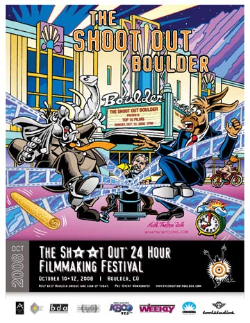 The Shoot Out 24 Hour Filmmaking Festival Boulder